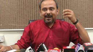 Aap Delhi Convener Briefs Media on MCD Declare's Half Baked Projects Ready
