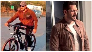 Salman Khan's Dashing  Look In Tiger Zinda Hai Revealed - Salman Khan And Katrina Kaif