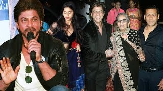 Shahrukh's Daughter Suhana To Enter Bollywood, Shahrukh OPENS On Salman Khan's Family