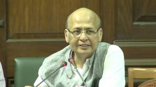 AICC Press Briefing By Abhishek Manu Singhvi at Congress HQ. March 10, 2017