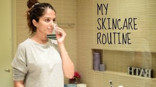 My SIMPLE Yet EFFECTIVE NIGHTTIME SKINCARE ROUTINE I INDIAN SKIN