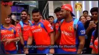 Gujarat Lions | Sweet celebrations at Kanpur