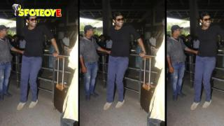 SPOTTED: Rana Daggubati and Prabhas at the Mumbai Airport | SpotboyE