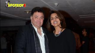 Ranbir Kapoor and Neetu Singh at Rishi Kapoor's Book launch ' The Khullam Khulla Show' | SpotboyE