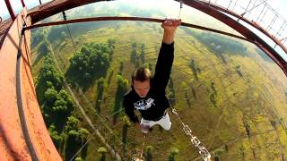 Compilation of awesome crazy Ukrainians climbing high places