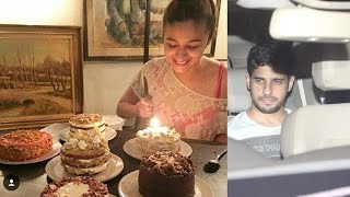 Alia Bhatt Celebrates her Birthday With Boyfriend Sidharth Malhotra || Bollywood News