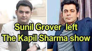 Sunil Grover aka Dr. Mashoor Gulati left The Kapil Sharma show - sunil grover kapil sharma