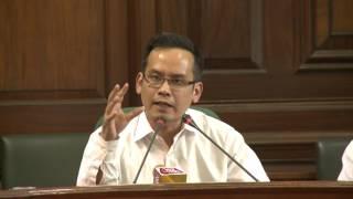 AICC Press Briefing By Gaurav Gogoi at Parliament House, March 22, 2017