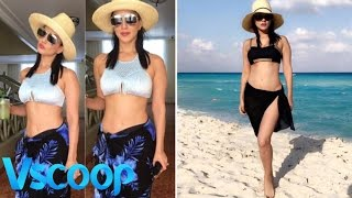 Sunny Leone Steams It Up In Her Beach Holiday Pictures #Vscoop