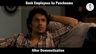 Bank Employees  ka Punchnama - kartik aaryan famous Speech Spoof