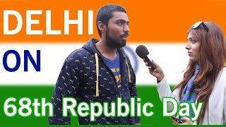Delhi on 68th Republic day - Shocking Public Response