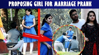 Proposing girl for marriage prank gone wrong ft  madnesspranks # Valentine's Day Prank