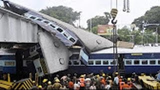 Top 10 India's Worst Train Accidents - Top 10 risky train journey Videos - Worst Train Rail Accident