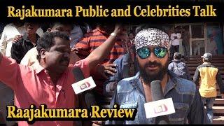 Raajakumara public and celebrities talk Rajakumara Kannada Movie Review Puneethrajkumar