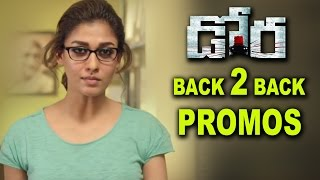 Dora Movie Back 2 Back Trailer Promos Nayantara, Harish Uthaman