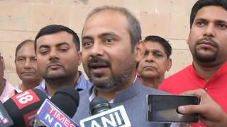 Dilip Pandey Briefs After Meeting SEC to respond on BJp's Allegation of using the word AAP