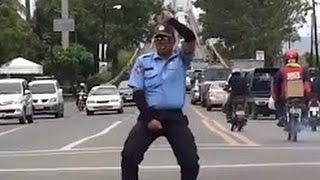 Best Top 10 Dancing Traffic Cops - Dance off Police, Soldiers Battle in Street - Funny Videos