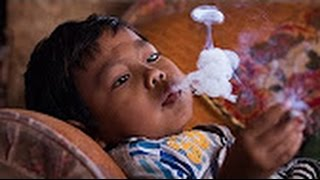 Baby smoking cigarette - Underage smoking problems - Top 10 Whatsapp Funny Videos
