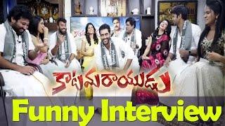 Katamarayudu Movie Team Funny  Interview about Success Ali, Siva Balaji, Pawan Kalyan, Dolly