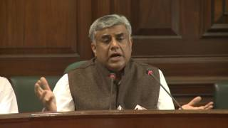 AICC Press Briefing By Rajeev Gowda in Parliament House, March 23, 2017