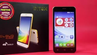 The Unboxing of Intex Cloud 4G Smart
