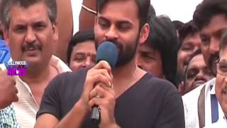 Sai Dharam Tej & Allu Aravind celebrate Ram Charan Birthday : Ram Charan Birth Day Celebrations