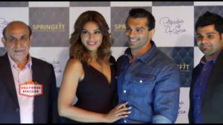 Bipasha Basu & Karan Singh Grover At Launch Of Springfit Mattresses Autograph Collection