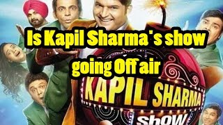 Is Kapil Sharma's show going Off air - Sony TV planning to deny renewal of the Kapil sharma show