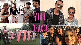 YTFF 2017- Youtube Fanfest Vlog - Creator Camp, YTFF, Red Carpet, BTS - Knot Me Pretty