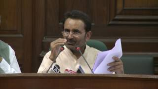 AICC Press Briefing By Shri Shaktisinh Gohil and Rajeev Gowda in Parliament House March 27, 2017
