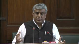 AICC Press Briefing By Rajeev Gowda in Parliament House, March 30, 2017