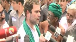 PM disrespectful to farmers, working only for rich: Rahul Gandhi