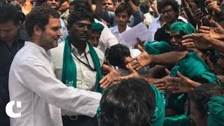 'PM Modi gives debt relief to rich people only' Rahul Gandhi after meeting Tamil Nadu farmers