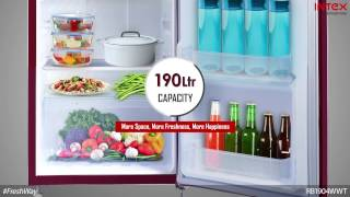 Intex Refrigerators - Powerful Cooling To Preserve Freshness!
