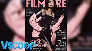 Sonakshi Sinha Slays In Black With Her Latest Photo-shoot #Vscoop