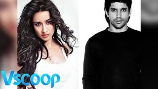 Shraddha Kapoor Snapped At Rumoured Beau Farhan Akhtar's House #Vscoop