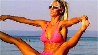 SEXY BIKINI YOGA for Beach Relaxation