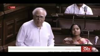 Kapil Sibal's Speech on Central GST, Integrated GST, UT-GST & GST Compensation bills