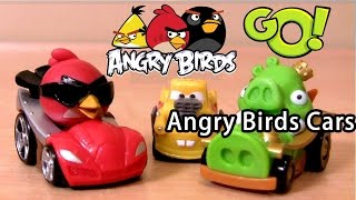 Angry Birds car Unboxing And reviews - Angry Birds Go Pig Rock Raceway Cars toy review kids toys