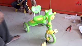 Hello Kitty Bicycle - Bicycle Toy Unboxing and Playing - toys for children - #Kids Toy World
