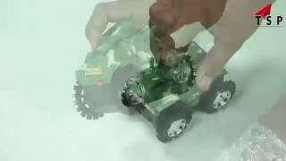 Unboxing Military Toy TANK - Kids Toy World