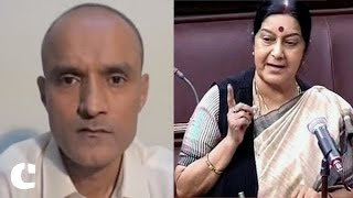 'Will go out of the way to Save Kulbhushan Jadhav' : Sushma Swaraj
