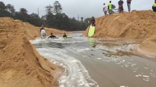 Terrigal river mouth opens up live Awesome must watch