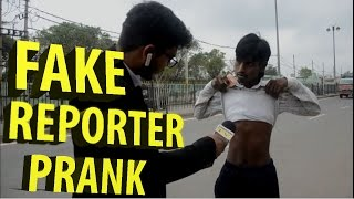 Fake Reporter PRANK ( WITH A Dead body ) prank in haryana !! by Mr.pank