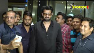 SPOTTED: Prabhas at the Mumbai Airport | SpotboyE