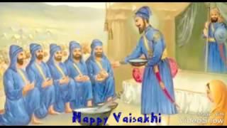 Happy Vaisakhi 2017 - ਵਿਸਾਖੀ 2017 - Khalsa Sajna Divas - Greetings - Sikh - Festival - Baisakhi