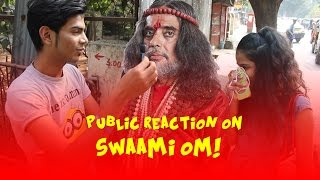 Indian insulting SWAMI OM Must watch -Virar2Churchgate