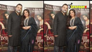 Vidya Balan and Team Promotes Begum Jaan in Delhi | SpotboyE