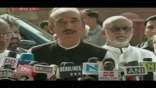 Recent allegations of EVM tampering have raised questions on electoral process: Ghulam Nabi Azad