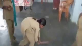 Student Broom in school bulandshar